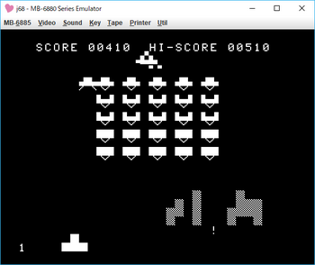完全マシン語 スペースインベーダー UFO.png