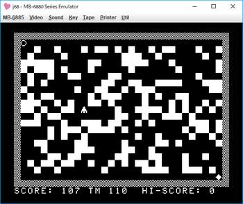 移植版ランダム迷路 ゲーム画面2.png