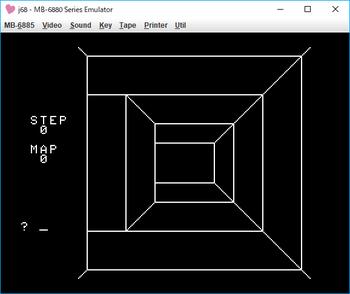 3次元迷路 ゲーム画面1.png