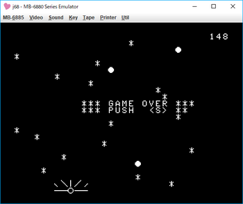METEORIC SHOWER game over.png