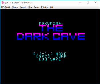 THE DARK CAVE_POKURIN4 タイトル.png