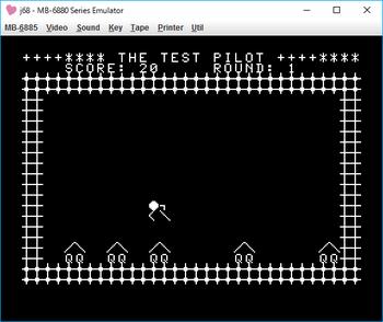 The Test Pilot ゲーム画面.png